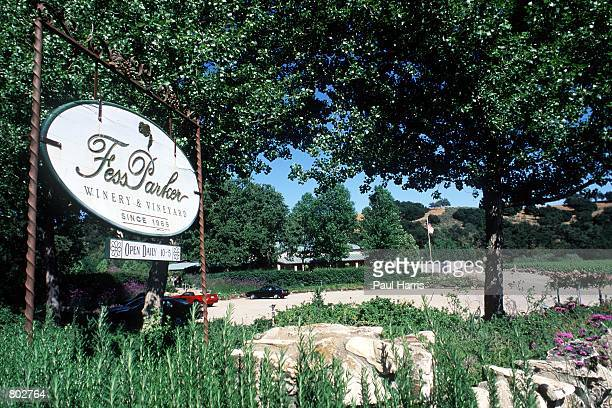Fess Parker's Wine Country Inn Spa where actor Fess Parker who starred in Disney's Davy Crockett series in the 1950's now resides May 25 2000 in Los...