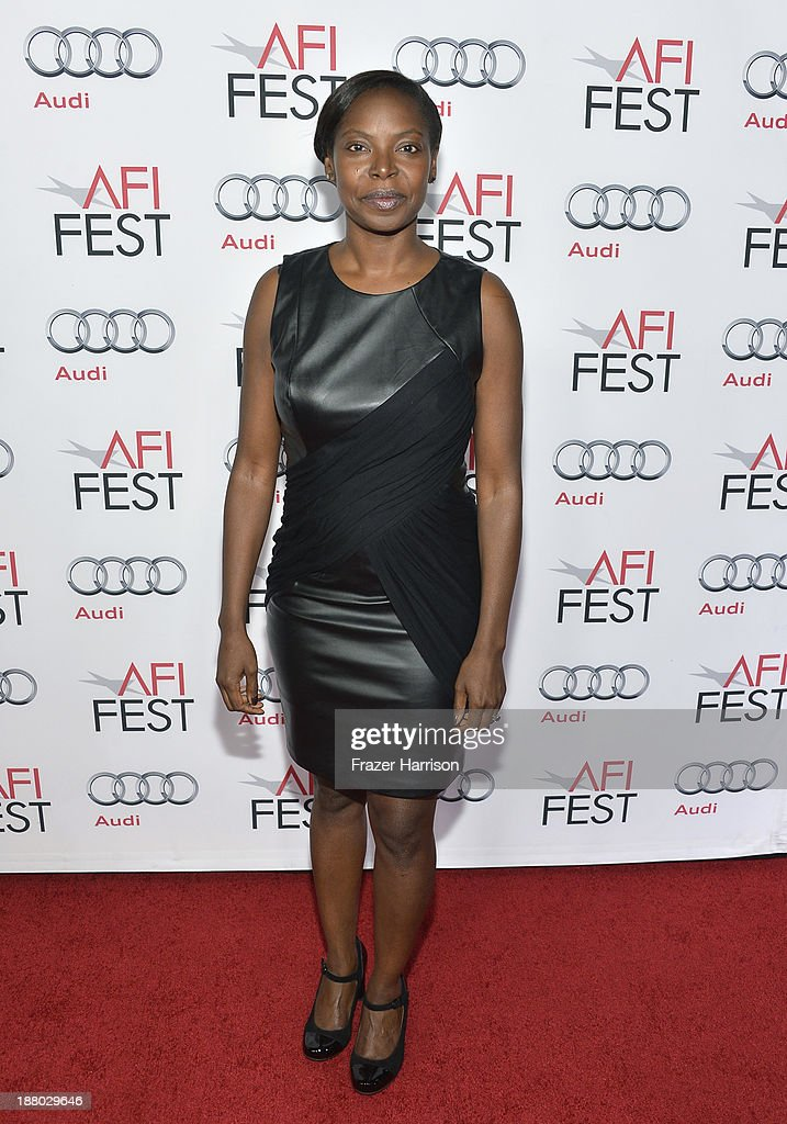 Fest Director Jacqueline Lyanga attends the AFI FEST 2013 presented by Audi closing night gala screening of 'Inside Llewyn Davis' at TCL Chinese Theatre on November 14, 2013 in Hollywood, California.