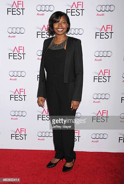 Fest Director Jacqueline Lyanga attends the premiere of Sony Pictures Classics' 'Foxcatcher' during AFI FEST 2014 presented by Audi at Dolby Theatre...