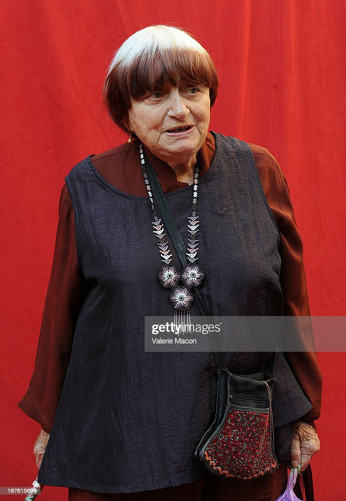Fest guest artistic director Agnes Varda attends the screening of 'The Past' during AFI FEST 2013 Presented By Audi at the Egyptian Theatre on November 10, 2013 in Hollywood, California.