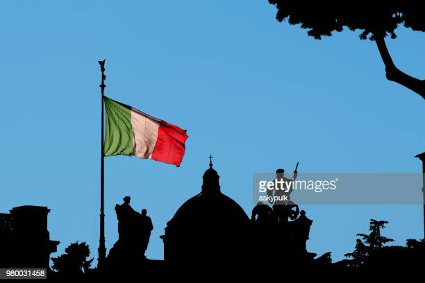 festa della repubblica - italian flag stock pictures, royalty-free photos & images