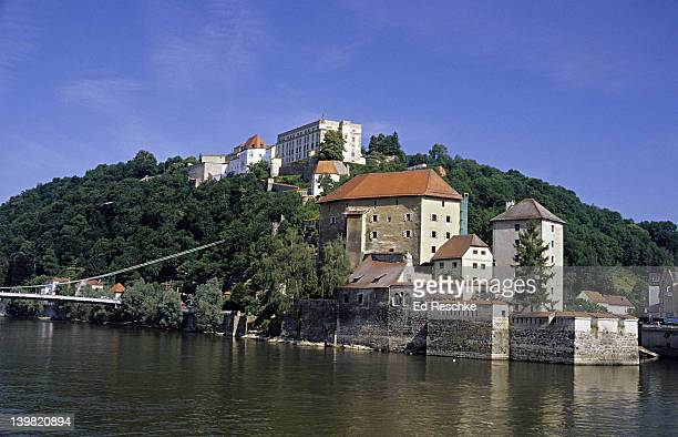 Feste oberhaus (Oberhaus Fortress) Passau, Germany (Town of three rivers; confluence of Danube, the Ilz and the Inn Rivers) Once was the largest fortress in Europe.