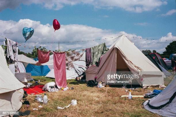 Festival Camping Scene