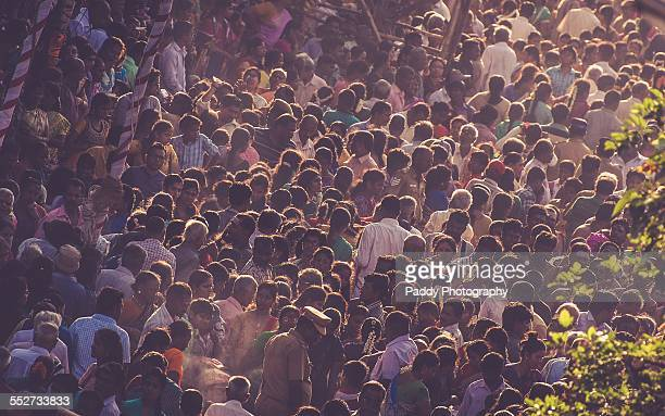 festival crowds - tamil nadu stock pictures, royalty-free photos & images