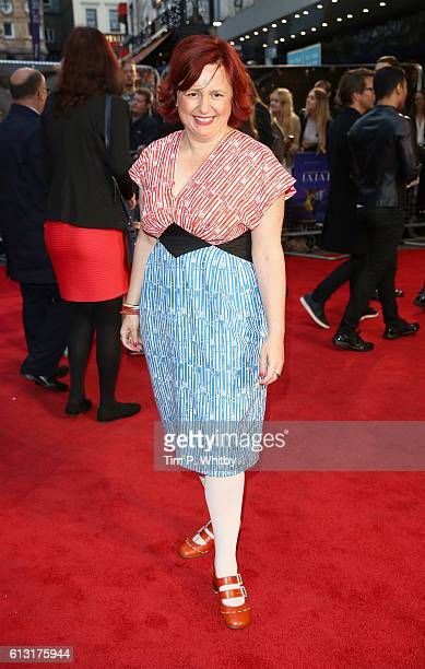 Festival director Claire Stewart attends the 'La La Land' Patrons Gala screening during the 60th BFI London Film Festival at the Odeon Leicester...