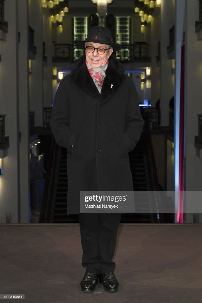 Festival director Dieter Kosslick attends the 'Becoming Astrid' (Unga Astrid) premiere during the 68th Berlinale International Film Festival Berlin at Friedrichstadtpalast on February 21, 2018 in Berlin, Germany.