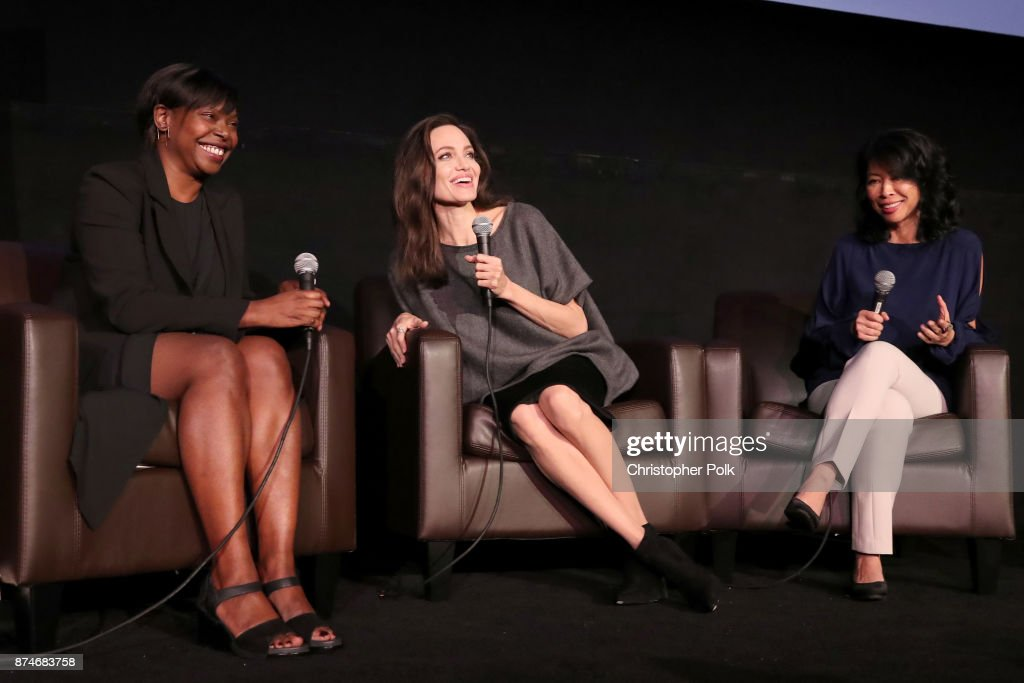 AFI FEST 2017 Presented By Audi - On Collaborative Storytelling: Angelina Jolie And Loung Ung