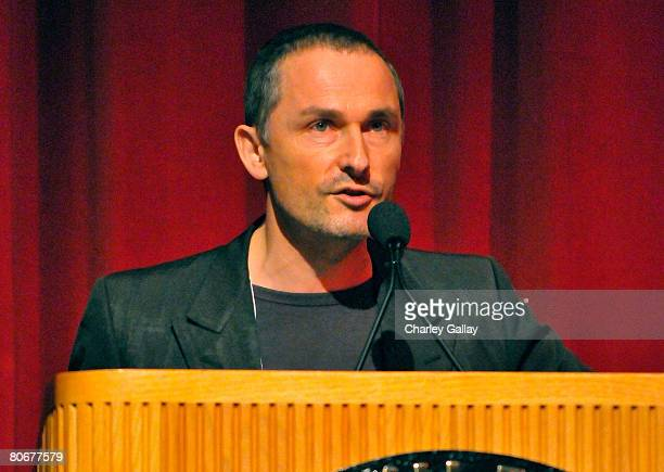 Festival Director Francois Truffart during the 12th annual City of Lights, City of Angels French Film Festival held at the Directors Guild of America...
