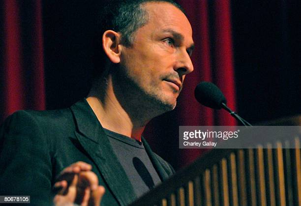 Festival Director Francois Truffart during the 12th annual City of Lights City of Angels French Film Festival held at the Directors Guild of America...