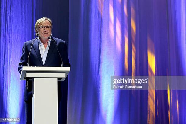 Festival director Quentin Raspail during the closing ceremony of the 17th Festival of TV Fiction At La Rochelle on September 12 2015 in La Rochelle...