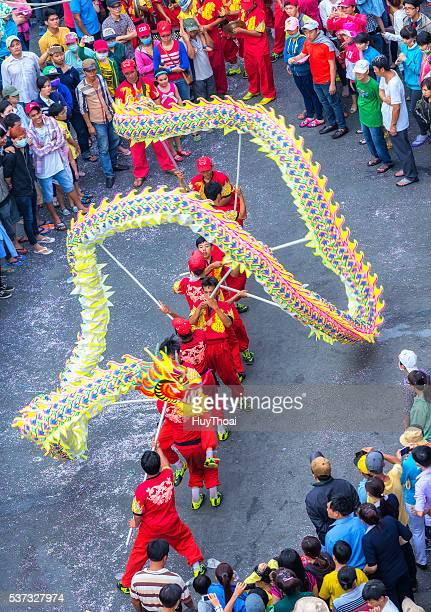 Festival dragon dance Chinese Lantern