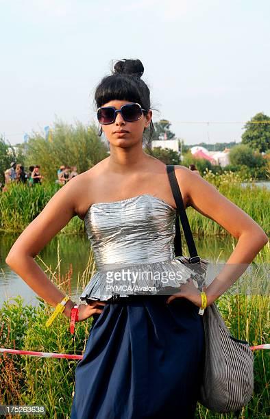 Festival fashion portrait Secret Garden Party UK 2008