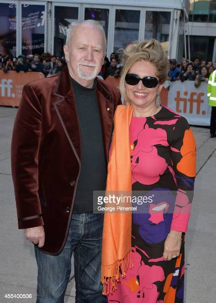 """Festival Founder William Marshall and Sari Ruda Marshall attend the """"A Little Chaos"""" premiere during the 2014 Toronto International Film Festival at..."""