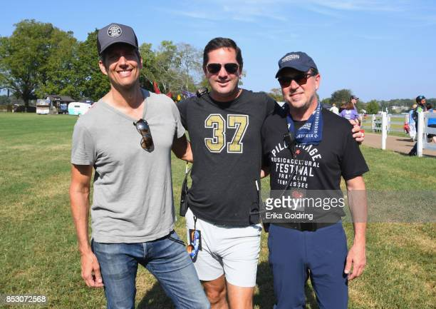 Festival founders Kevin Griffin Michael Whalen and Bradnt Wood attend Pilgrimage Music Cultural Festival on September 24 2017 in Franklin Tennessee