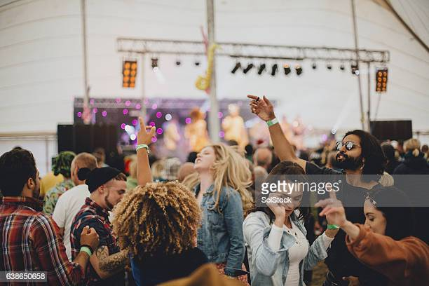 festival fun - music festival stock pictures, royalty-free photos & images