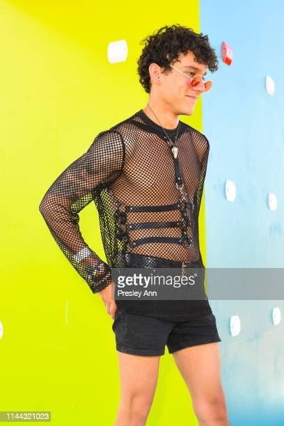 Festival goer attends 2019 Coachella Valley Music And Arts Festival - Weekend 2 on April 21, 2019 in Indio, California.