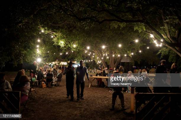 Festival goers at WOMADelaide 2020 on March 08, 2020 in Adelaide, Australia.