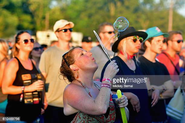 Festival goers attend the Pilgrimage Music Cultural Festival Day 2 on September 25 2016 in Franklin Tennessee