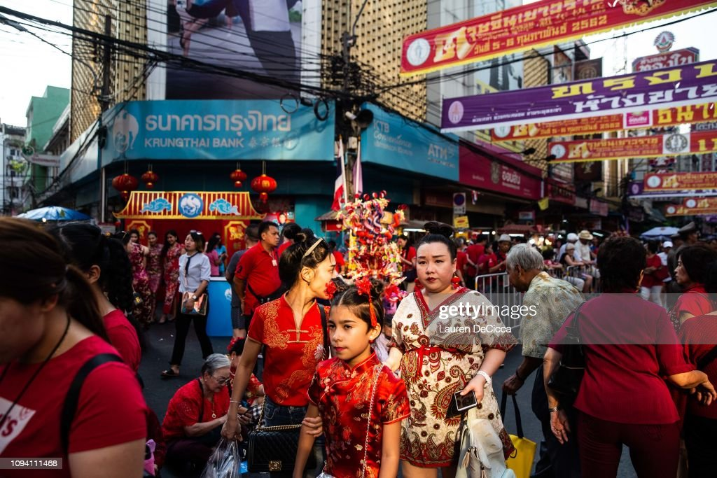THA: Lunar New Year Celebrations In Thailand