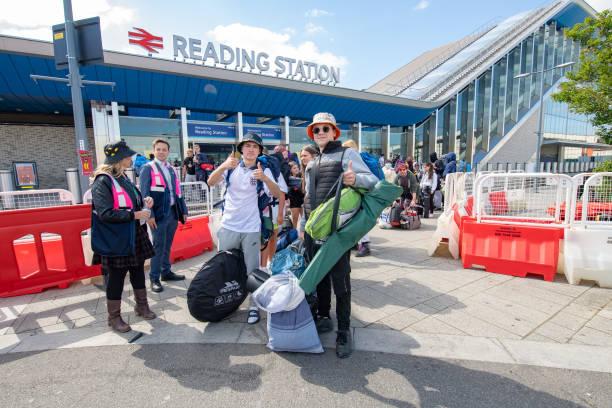 GBR: Reading Festival 2021 - Set Up