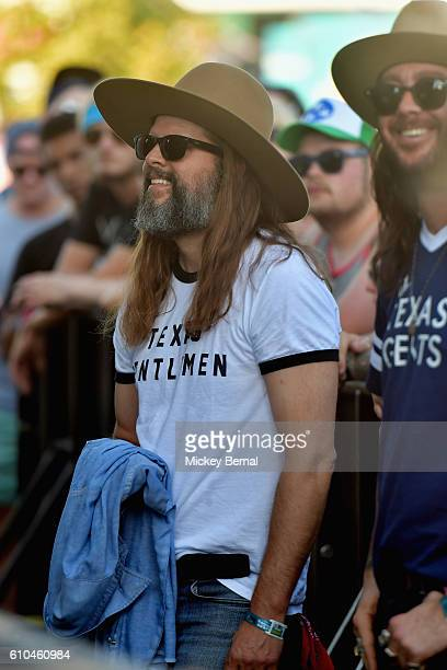 Festival goers watch City and Colour perform onstage at the Pilgrimage Music Cultural Festival Day 2 on September 25 2016 in Franklin Tennessee