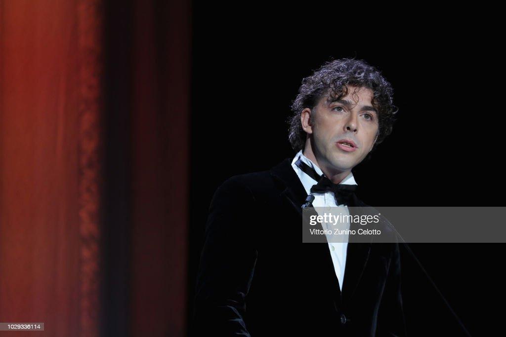 ITA: Award Ceremony - 75th Venice Film Festival