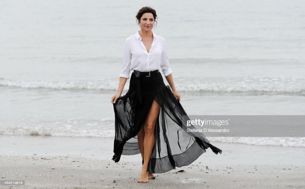 'Luisa Ranieri' - Photocall - 71st Venice Film Festival : News Photo