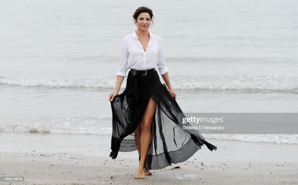 Festival hostess and actress Luisa Ranieri poses at a photocall during 71st Venice Film Festivalon August 26, 2014 in Venice, Italy. on August 26, 2014 in Venice, Italy.