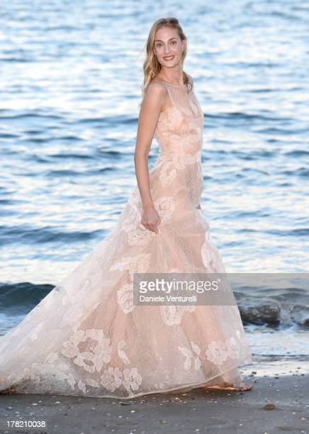 Festival hostess Eva Riccobono attends a photocall during the 70th Venice International Film Festival at the Hotel Excelsior on August 27 2013 in...