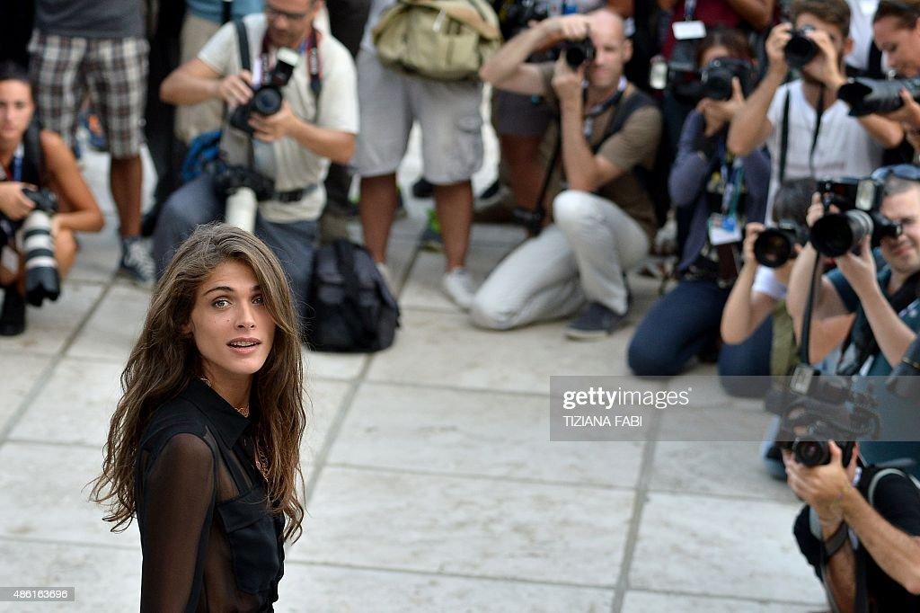 ITALY-FILM-FESTIVAL-VENICE : News Photo