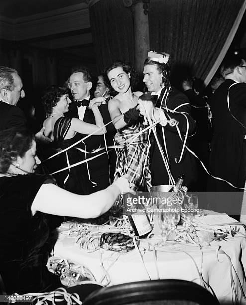 A festival in Lausanne Switzerland 8th January 1949