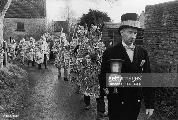 Festival in Marshfield United Kingdom The Marshfield Paper Boys festival a pagan rite taking place on Boxing Day a part of a project entitled Men...