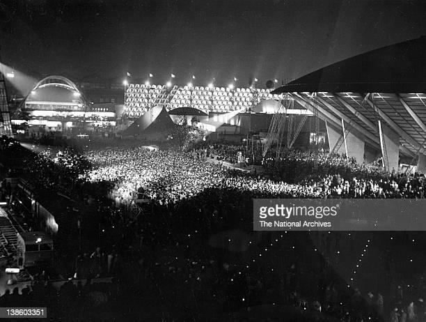 Festival of Britain closing ceremony Fairway 30 September 1951