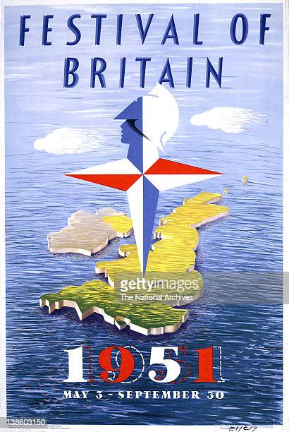 Festival Of Britain poster 1951