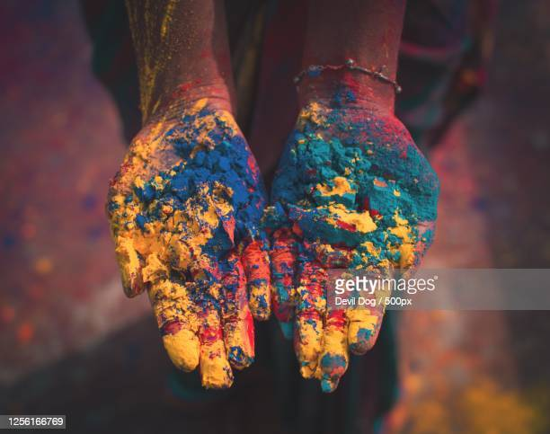 festival of colors, kolkata, india - images stock pictures, royalty-free photos & images