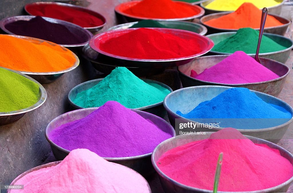 Festival of colors : Stock Photo