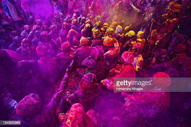 festival of colors - holi stock pictures, royalty-free photos & images