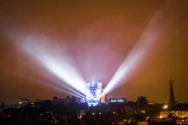Festival of Lights in Lyon, december 2018
