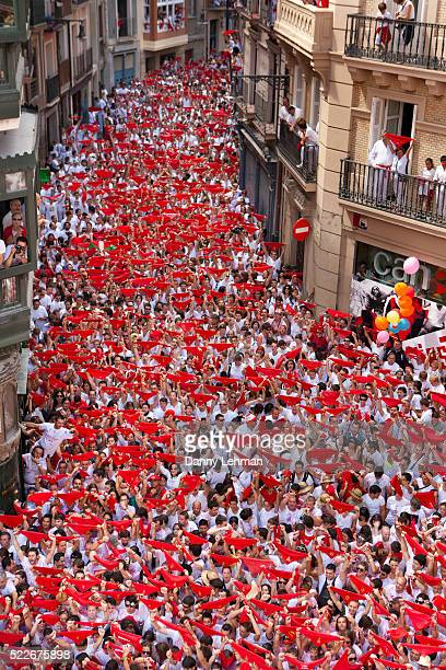 festival of san fermin in pamplona - fiesta of san fermin stock pictures, royalty-free photos & images