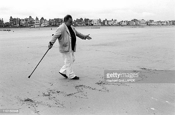 Festival of St Malo 'Etonnants voyageurs' in SaintMalo France on May 23 1999 Jim Harrison