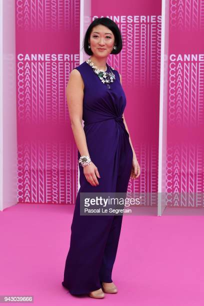 Festival President Fleur Pelerin attends the Launch of the Official Competition and 'The Truth About The Harry Quebert Affair' screening during the...