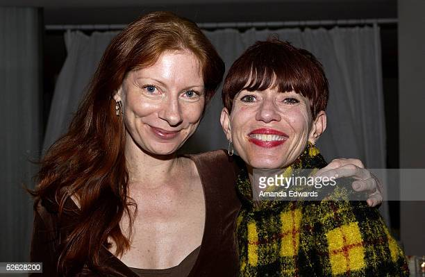 Festival Programmer Claudia Durgnat and Cathy Mouton attend the post screening party for the 9th Annual City of Lights City of Angels Film Festival...