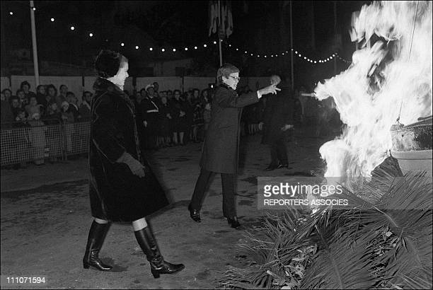 Festival Ste Devote Princess Grace And Prince Albert In Monaco On January 29 1971