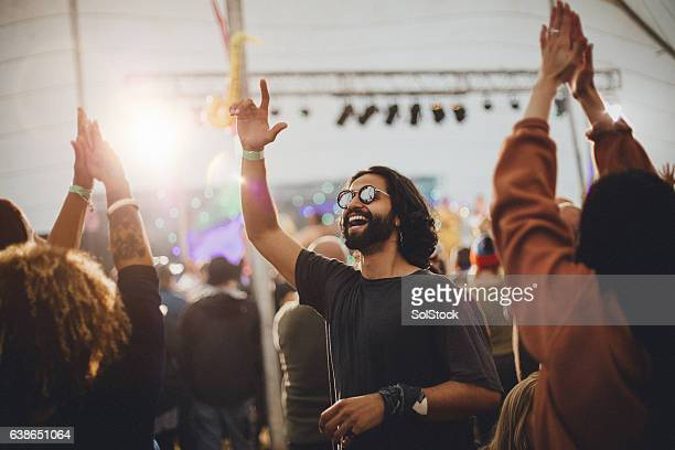 festival vibes - outdoor party stock pictures, royalty-free photos & images