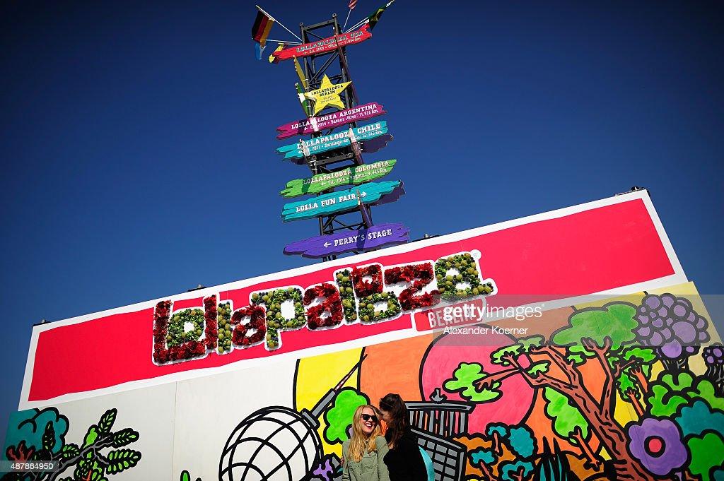Lollapalooza Berlin 2015 - Atmosphere : News Photo