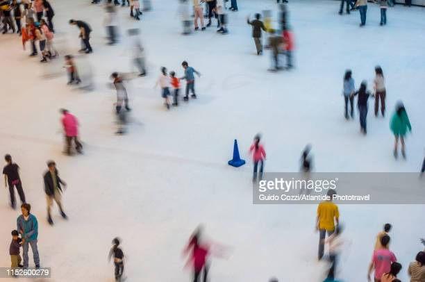 festival walk - ice rink stock pictures, royalty-free photos & images