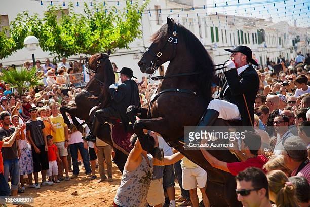 Festival with horses