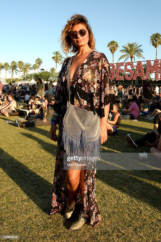 Street Style At The 2016 Coachella Valley Music And Arts Festival - Weekend 2 : News Photo