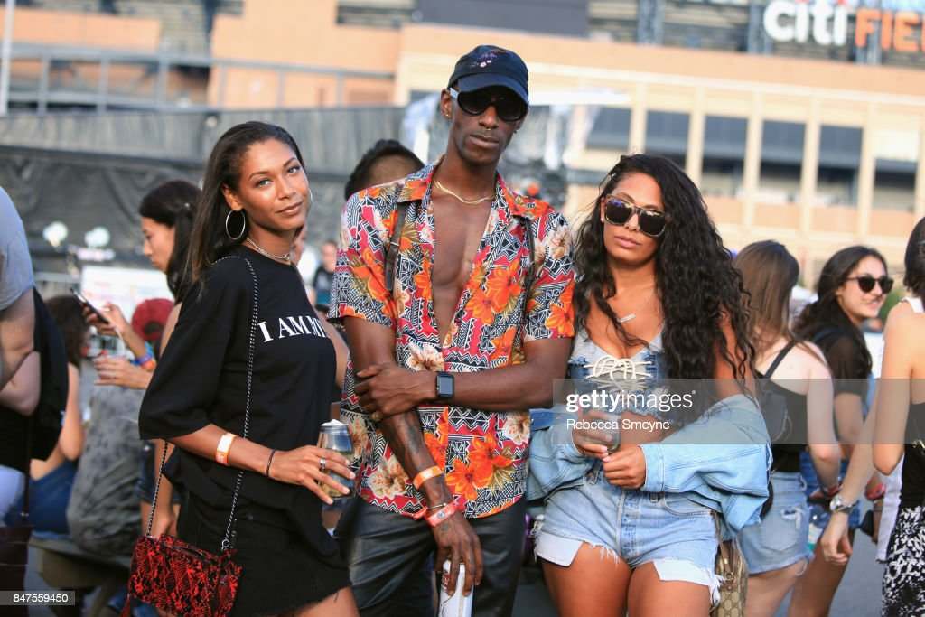 Festivalgoers attend the Meadows Music And Arts Festival - Day 1 at Citi Field on September 15, 2017 in New York City.