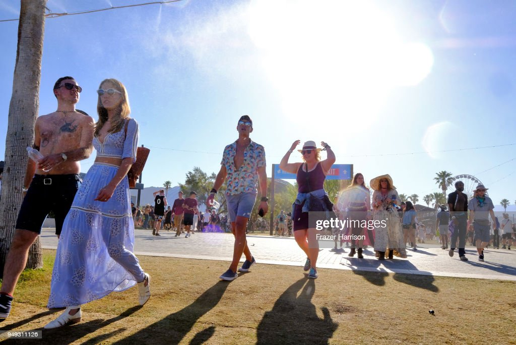 Street Style At The 2018 Coachella Valley Music And Arts Festival - Weekend 2